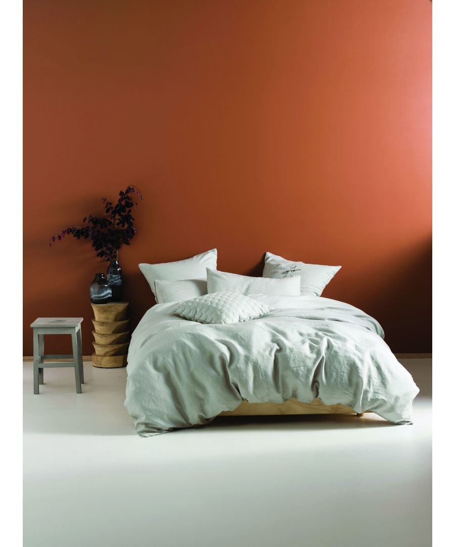 Image for Lh Nimes Single Duvet Set Pale Grey