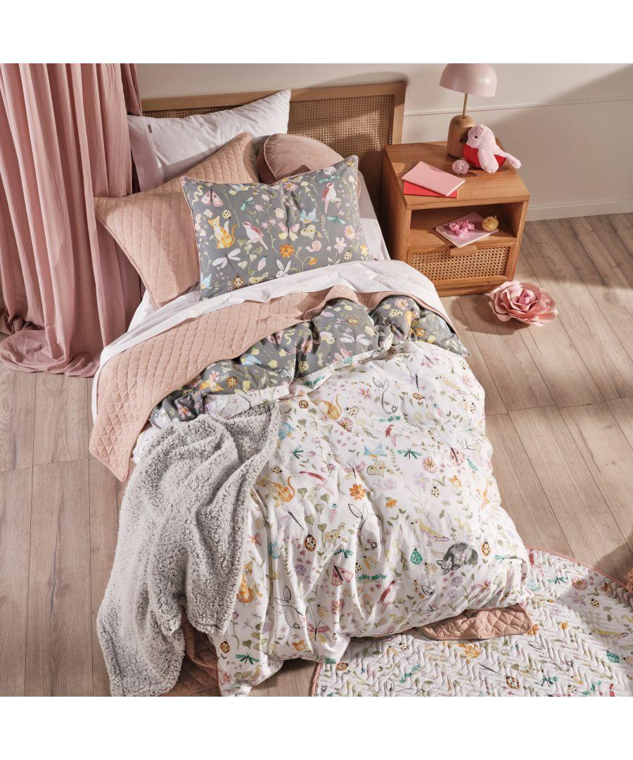 Image for Garden Friends Duvet Cover Set