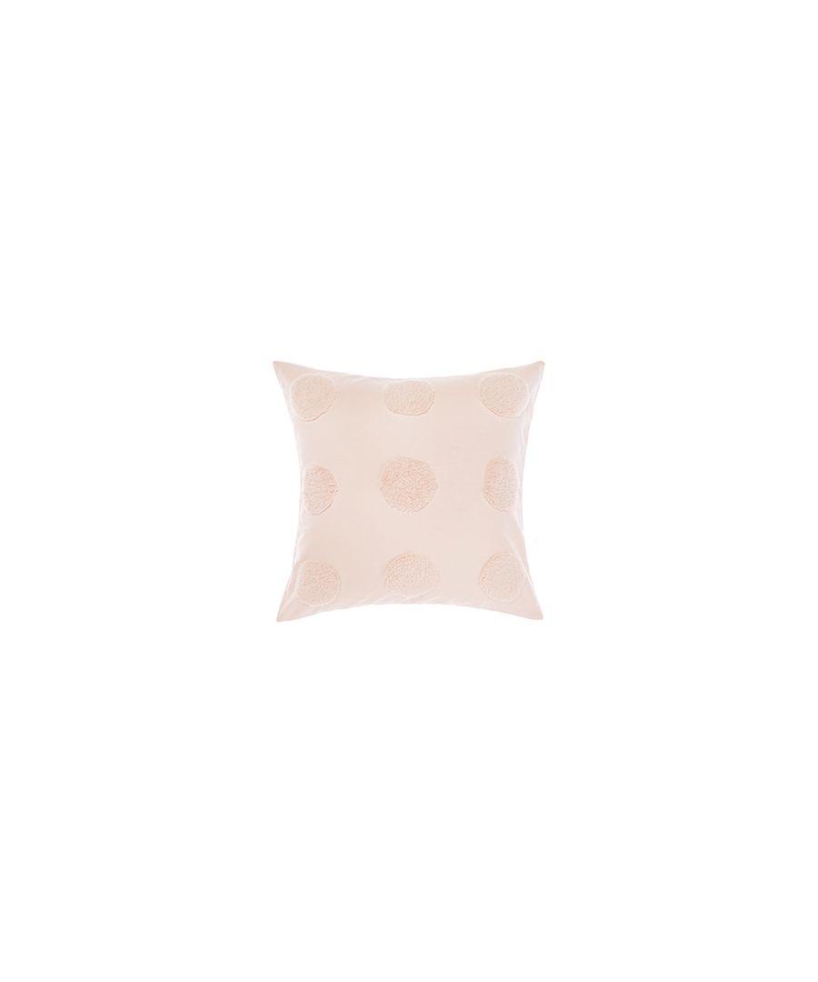 Image for Haze Poly Cushion Peach