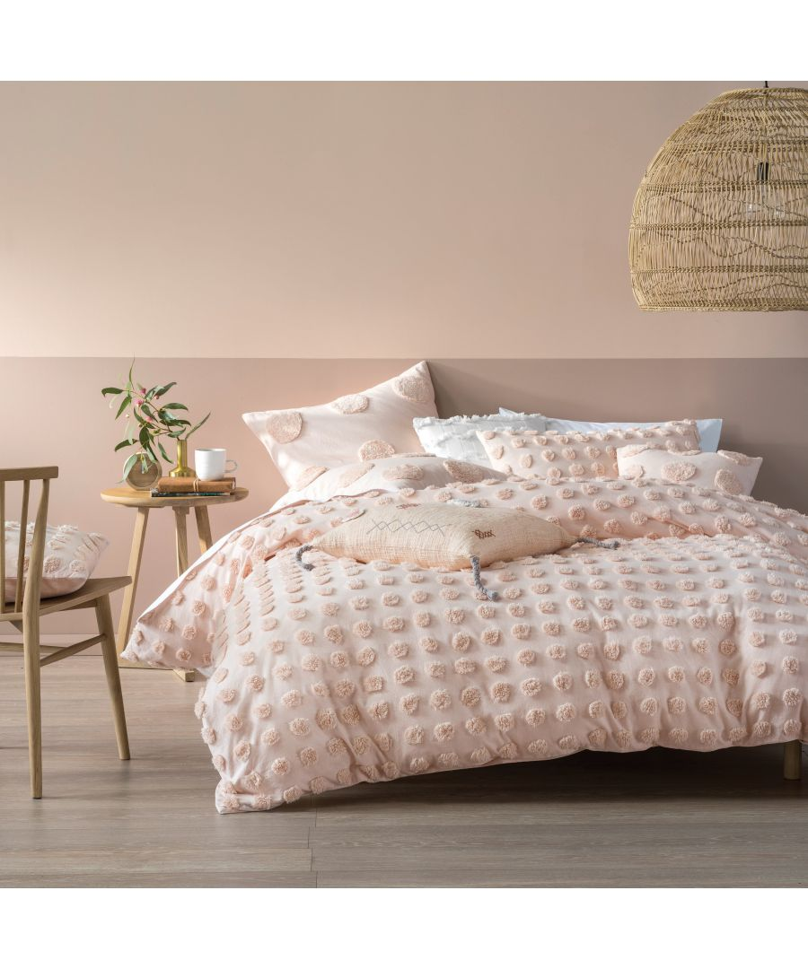 Image for Haze Duvet Set Peach