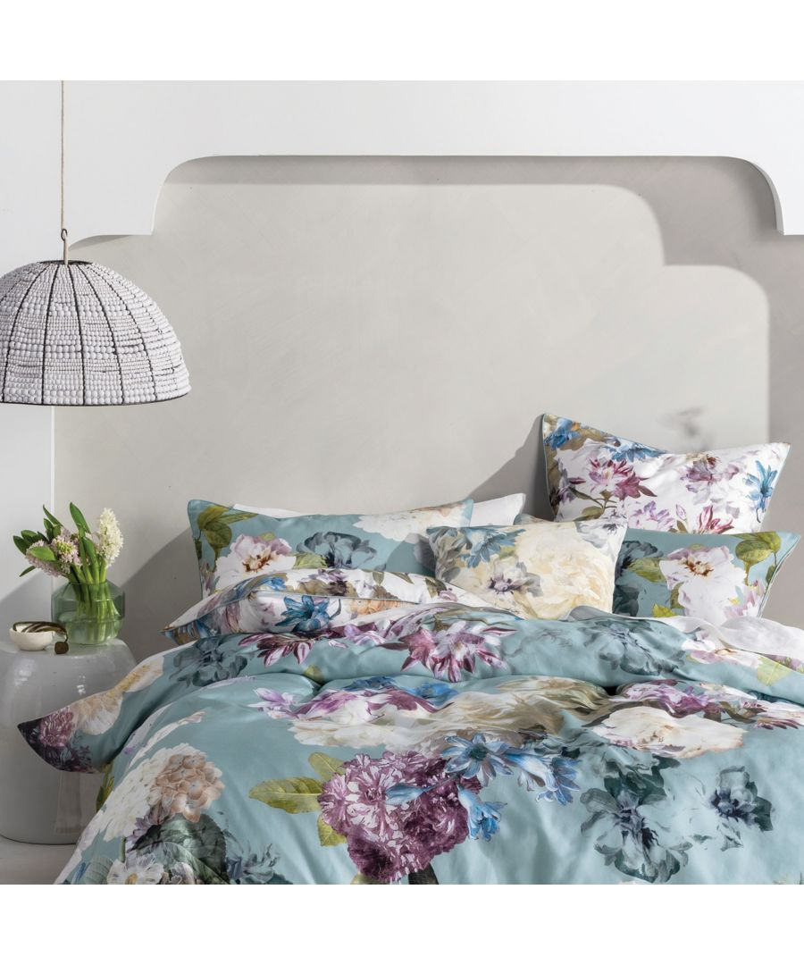 Image for Lena Pillowcase Pairs Aqua