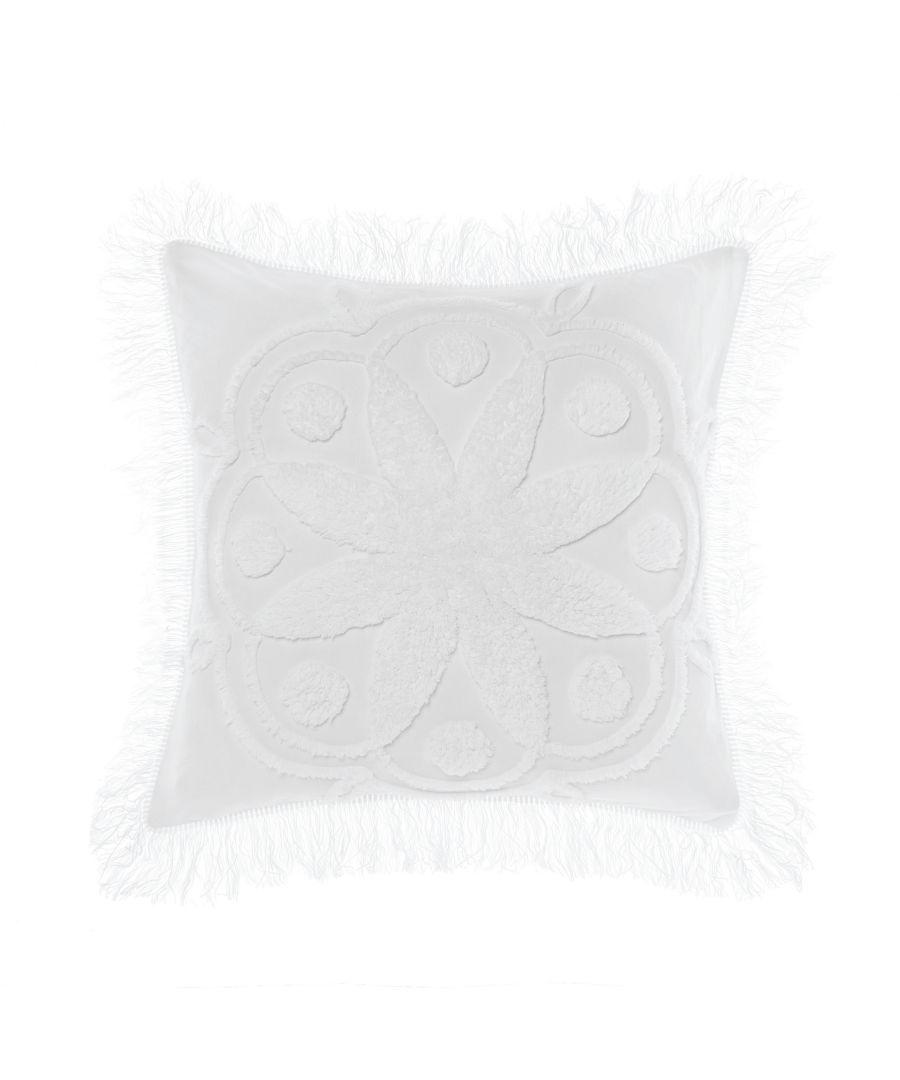 Image for Manisha Poly Cushion White
