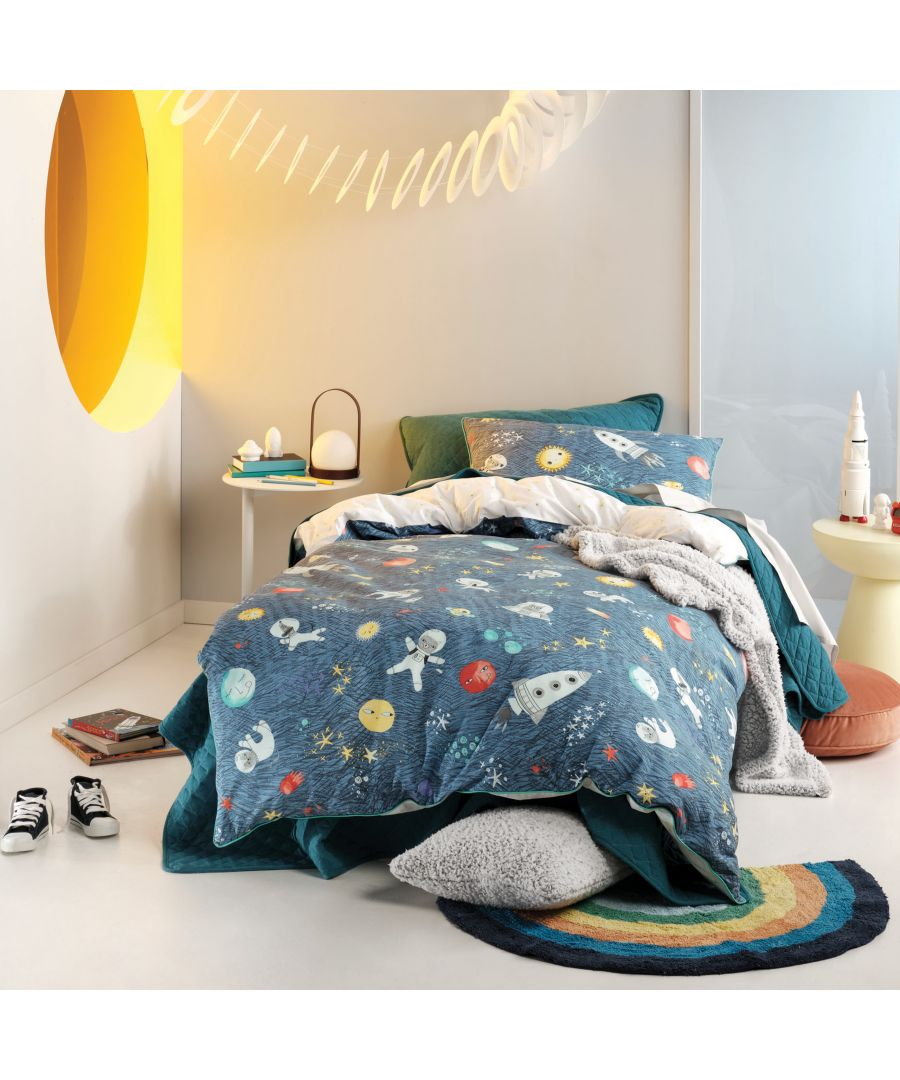 Image for Space Race Duvet Cover Set