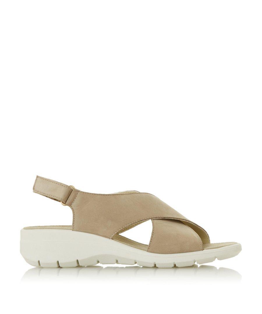 Image for Dune Ladies LIANNY Cross Strap Comfort Sandals