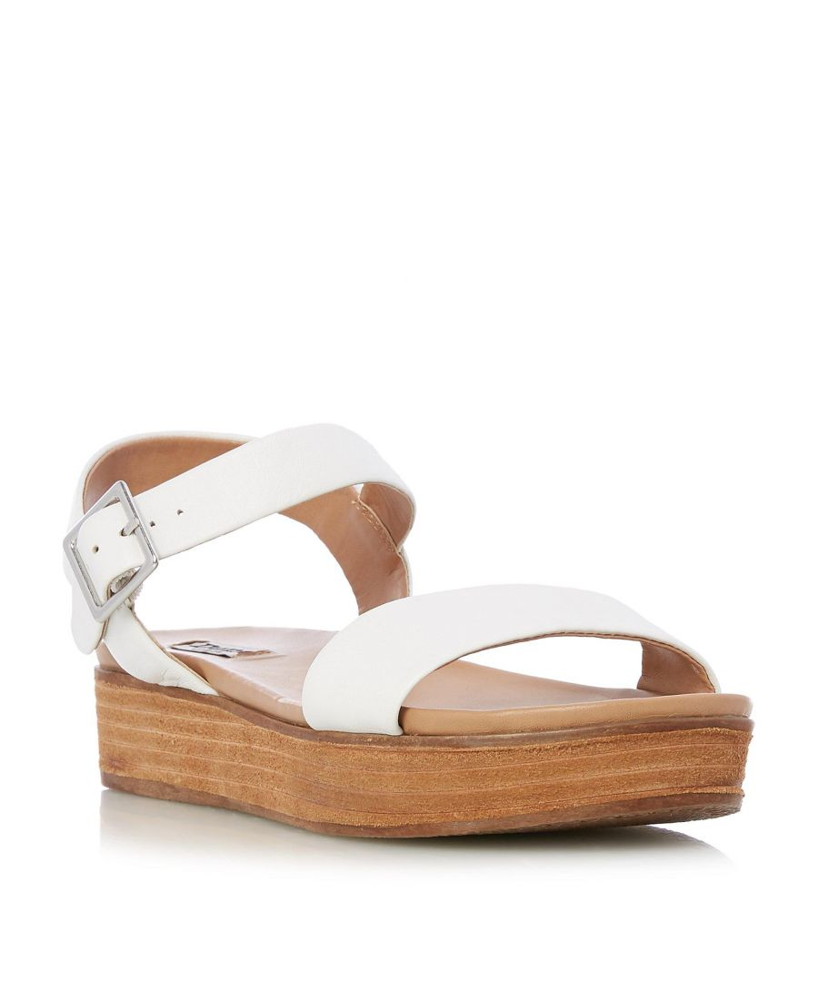 Image for Dune Ladies LILYBETH Stacked Wedge Sole Sandal