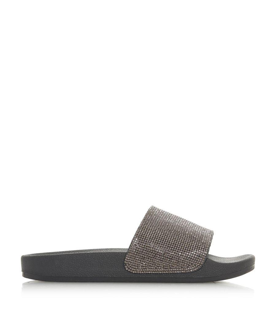 Image for Dune Ladies LIPSTICK Diamante Slider Sandals