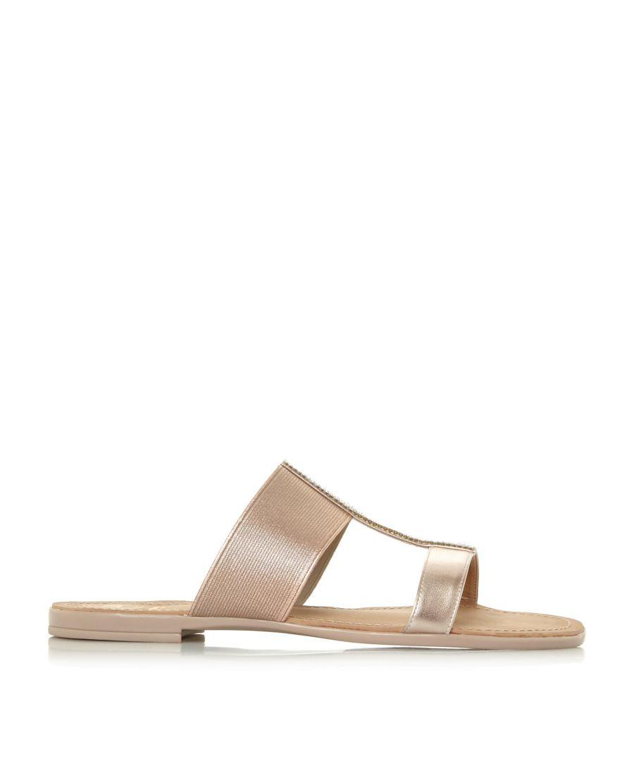 Image for Dune Ladies LLORA Open Toe Double Strap Sandals