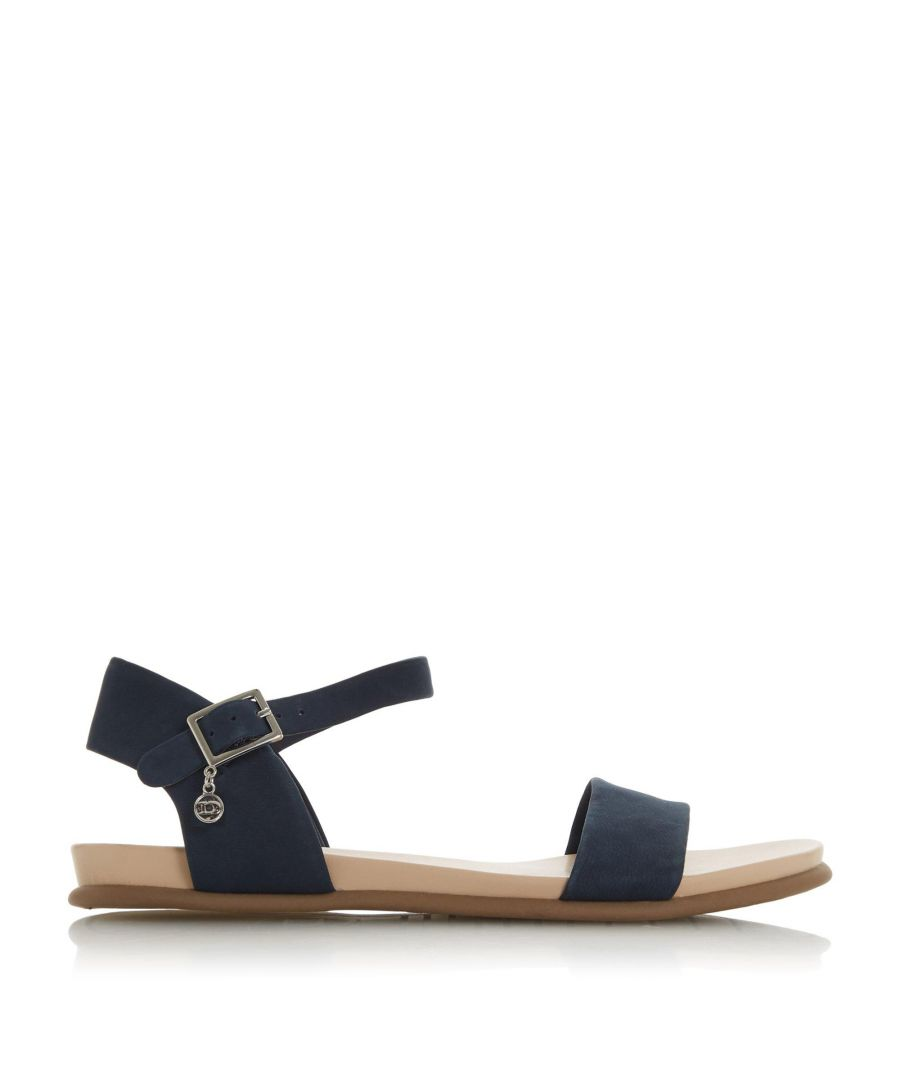 Image for Dune Ladies LONDONERR Two Part Flat Sandals