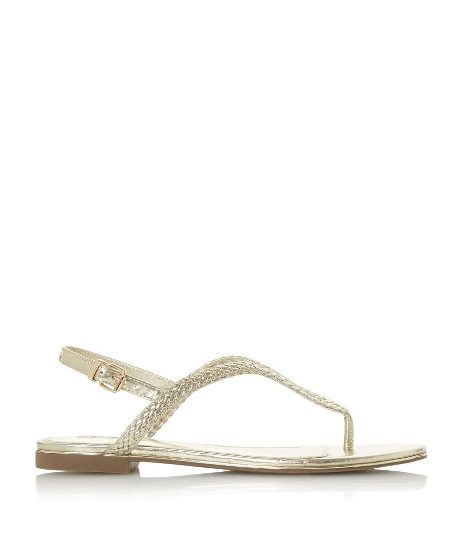 Image for Dune Ladies LONGLEY Braided Loop Strap Sandal