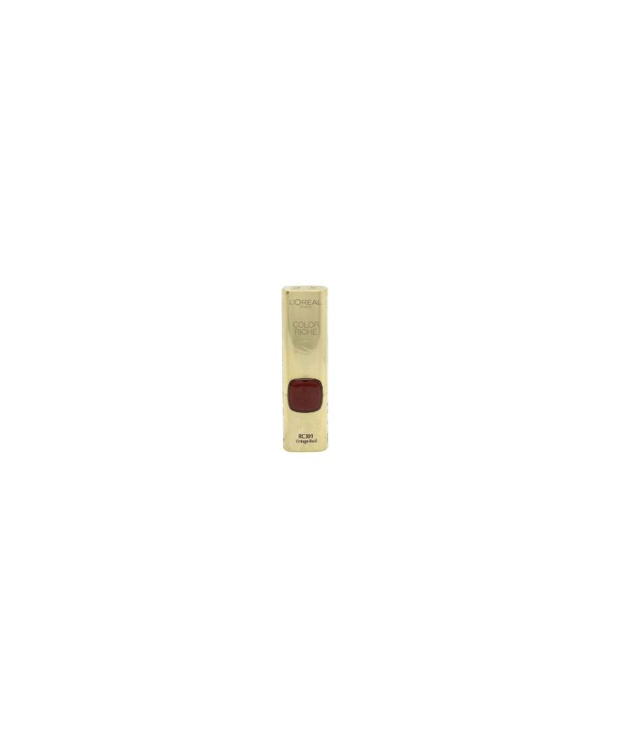 Image for COLOR RICHE LE ROUGE LIPSTICK VINTAGE RED RC301