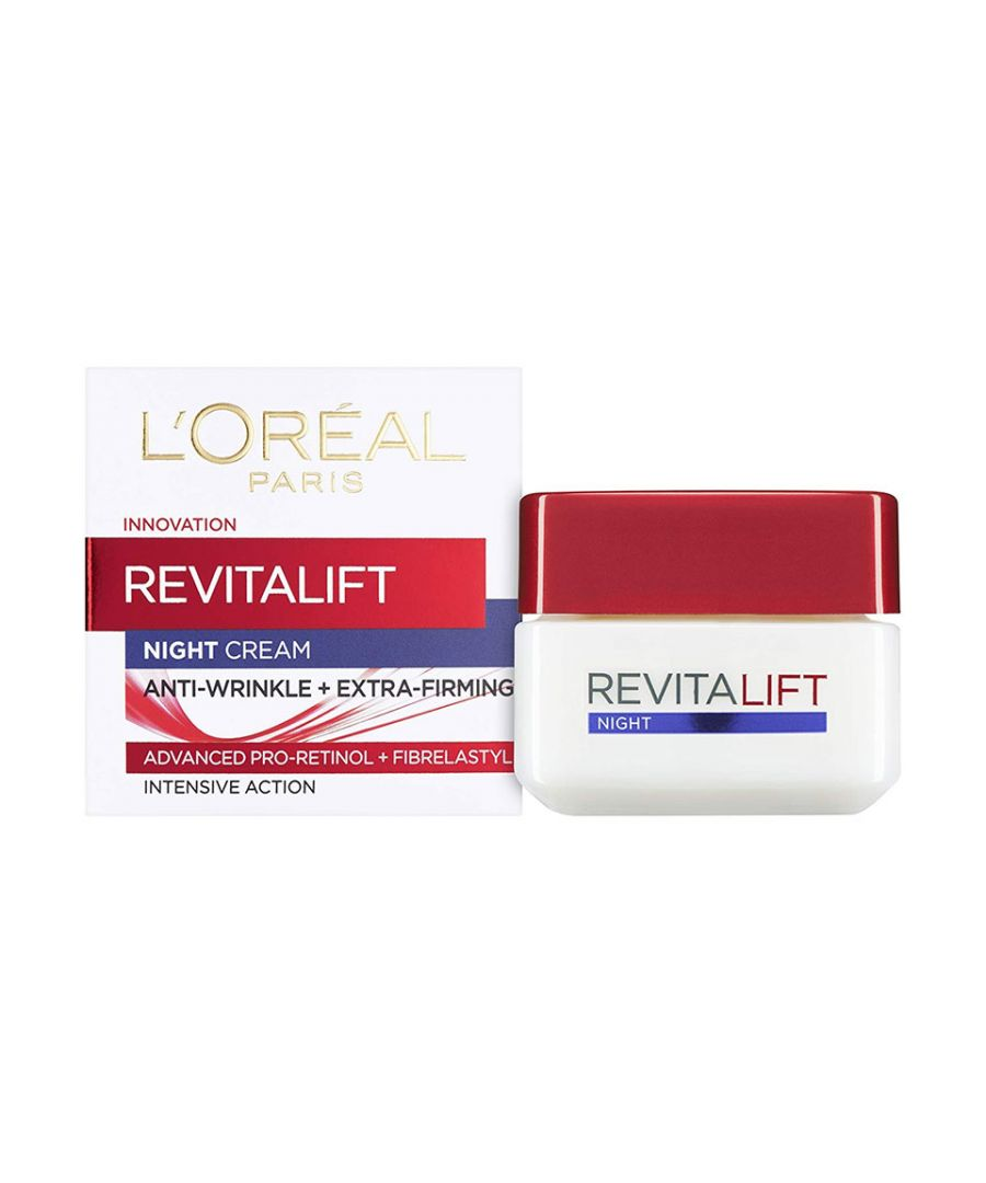 Image for L'OREAL Revitalift Night Cream Anti-Wrinkle & Extra-Firming 50ml