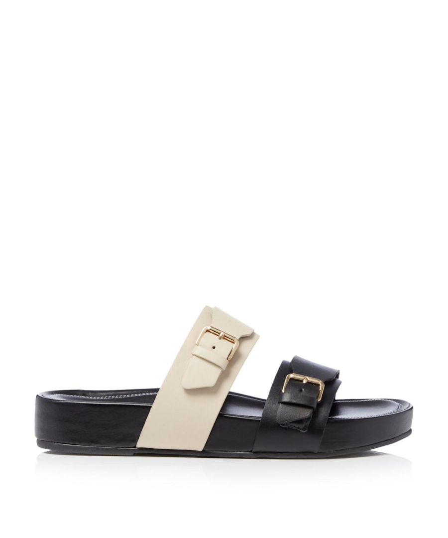 Image for Dune Ladies LOREN Two Part Buckle Sandals