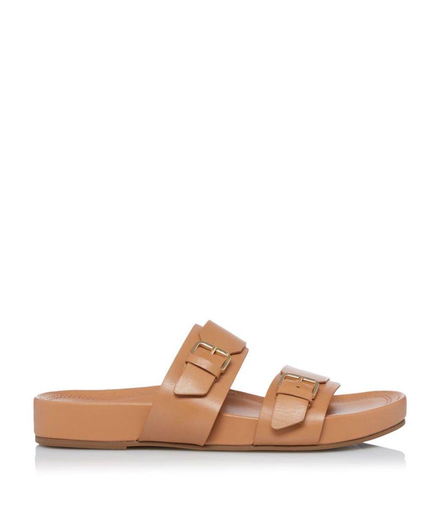 Image for Dune Ladies LOREN Two Part Buckle Sandals