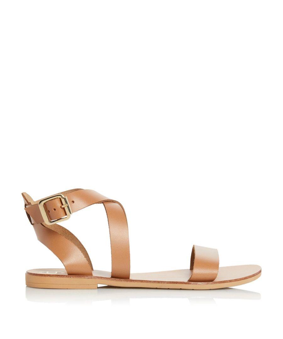 Image for Dune Ladies LOTTIIE Multi-Strap Flat Sandals