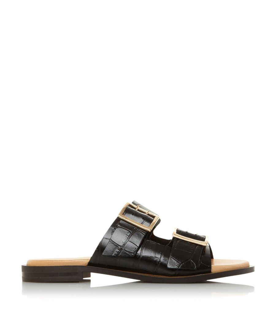 Image for Dune Ladies LOUIZZA DB Double Buckle Slider Sandals