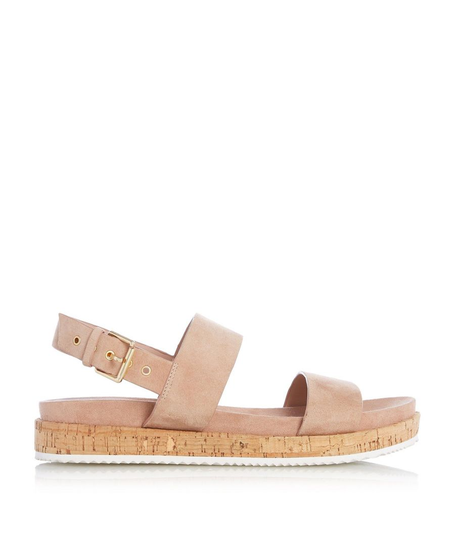 Image for Dune Ladies LOUSO Cork Sole Slingback Sandals