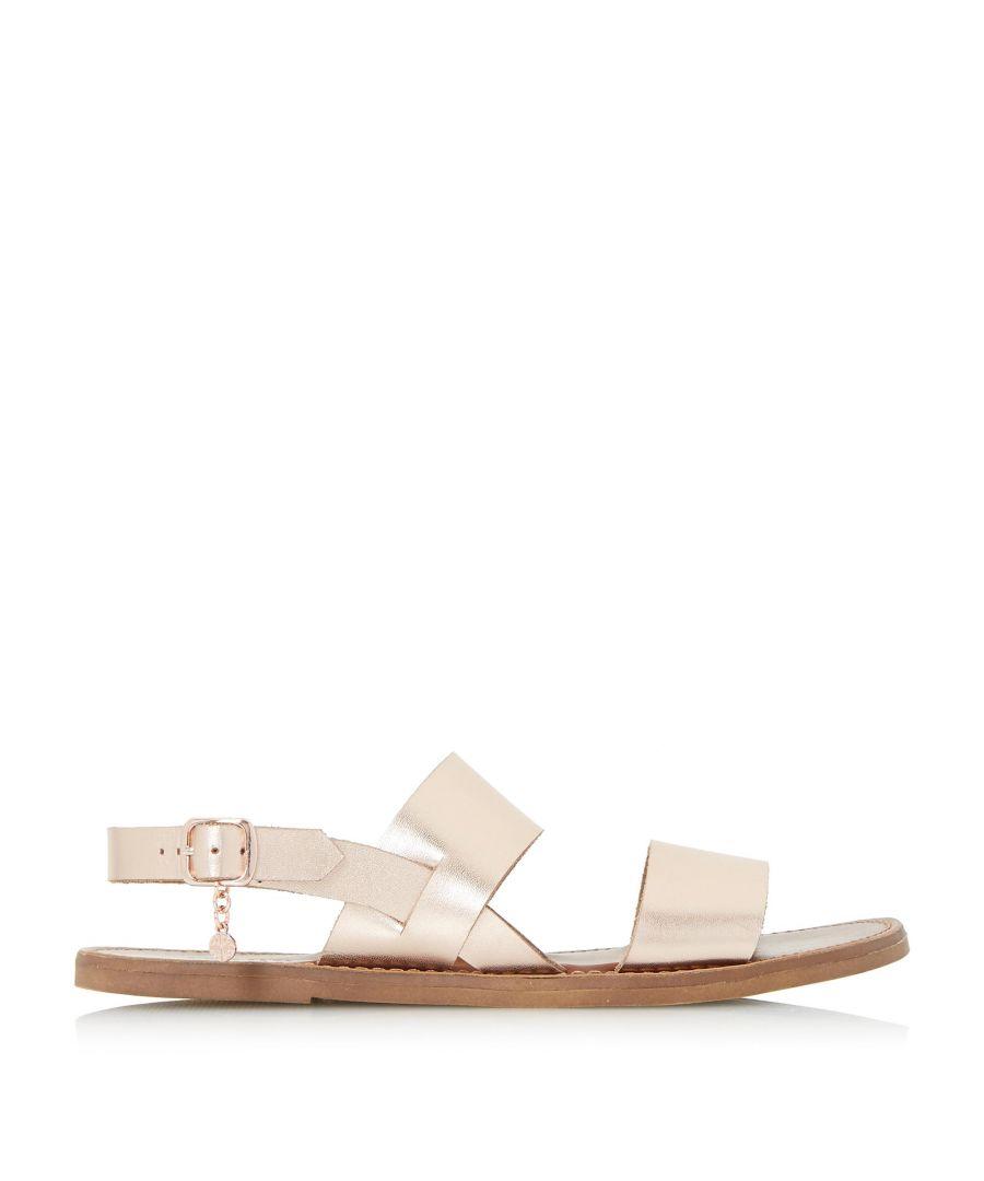 Image for Dune Ladies LOWPEZ Double Strap Flat Sandals