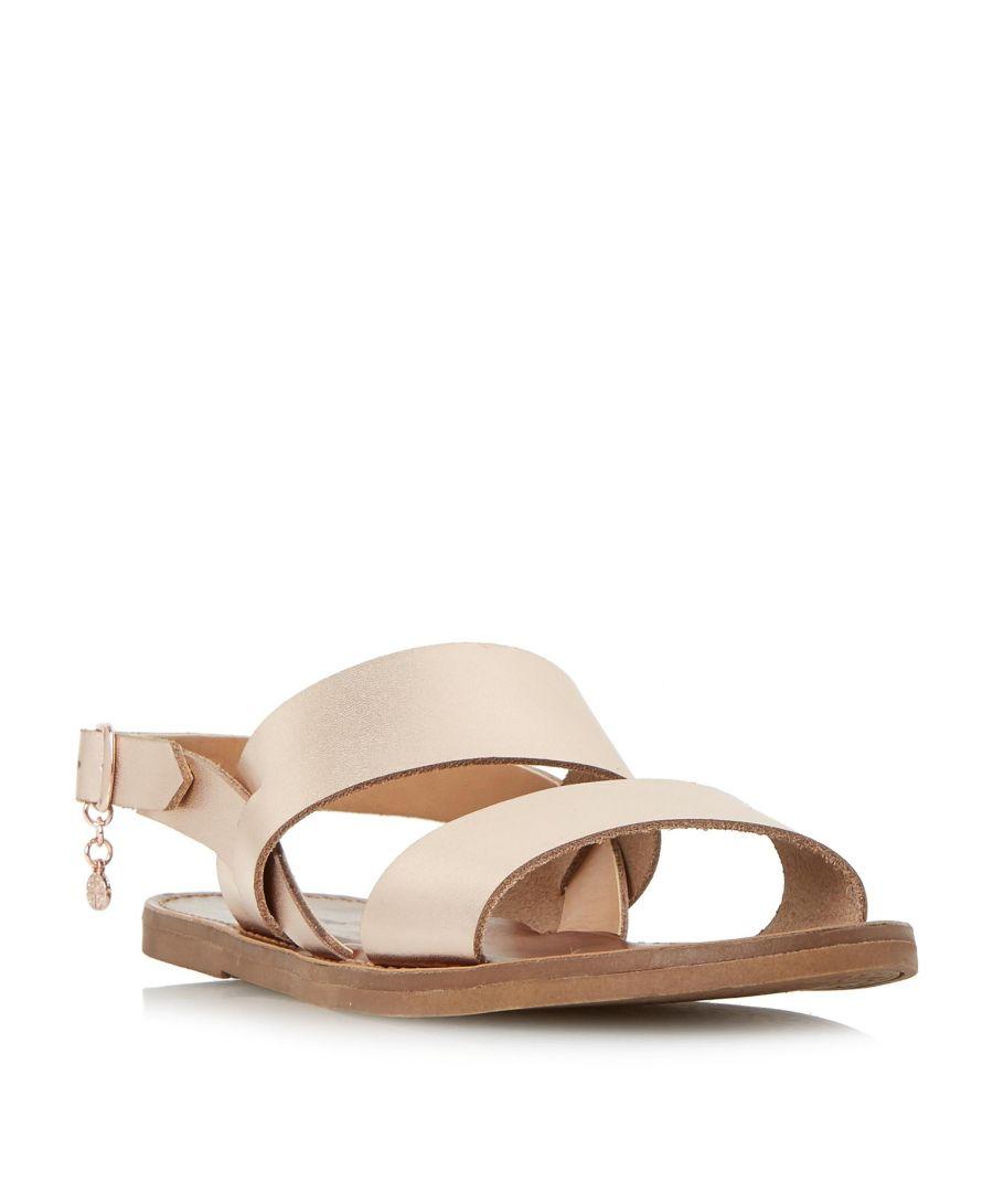 Image for Dune Ladies LOWPEZ Double Strap Flat Sandal