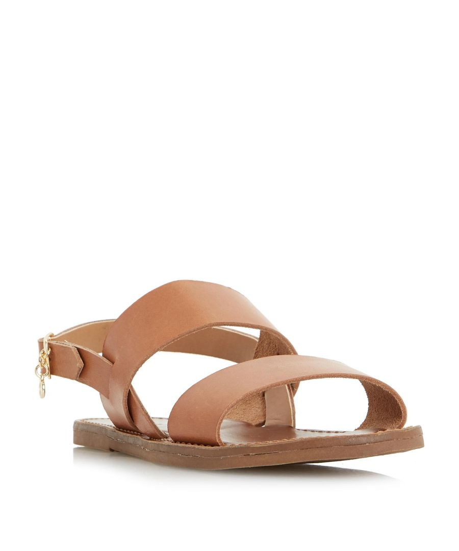 Image for Dune Ladies LOWPEZ Double Strap Flat Sandal