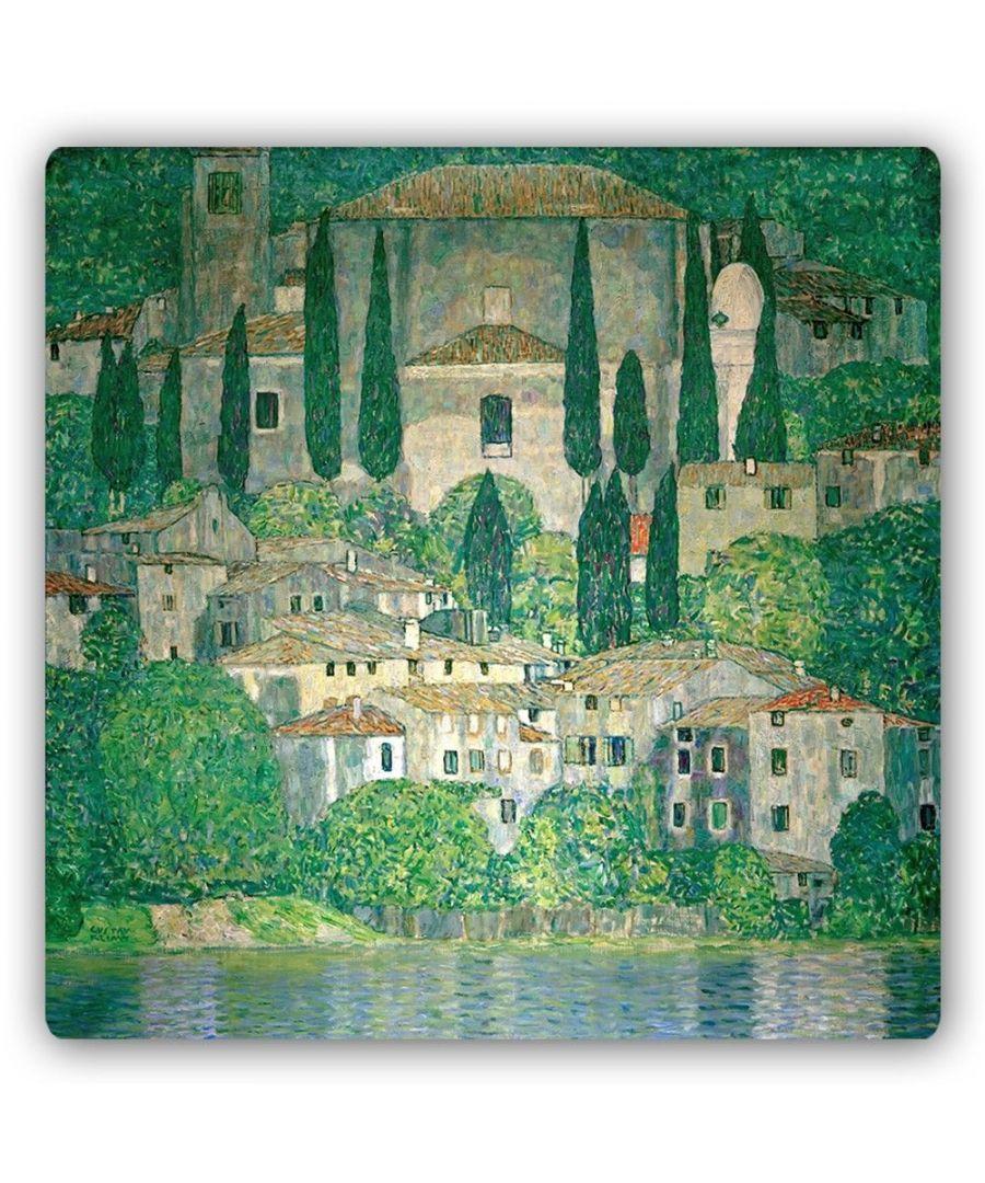 Image for Metal Print - Church In Cassone - Gustav Klimt