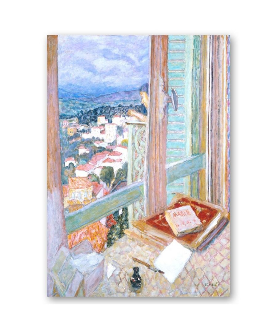 Image for Canvas Print - La Fenêtre - Pierre Bonnard Cm. 50x60