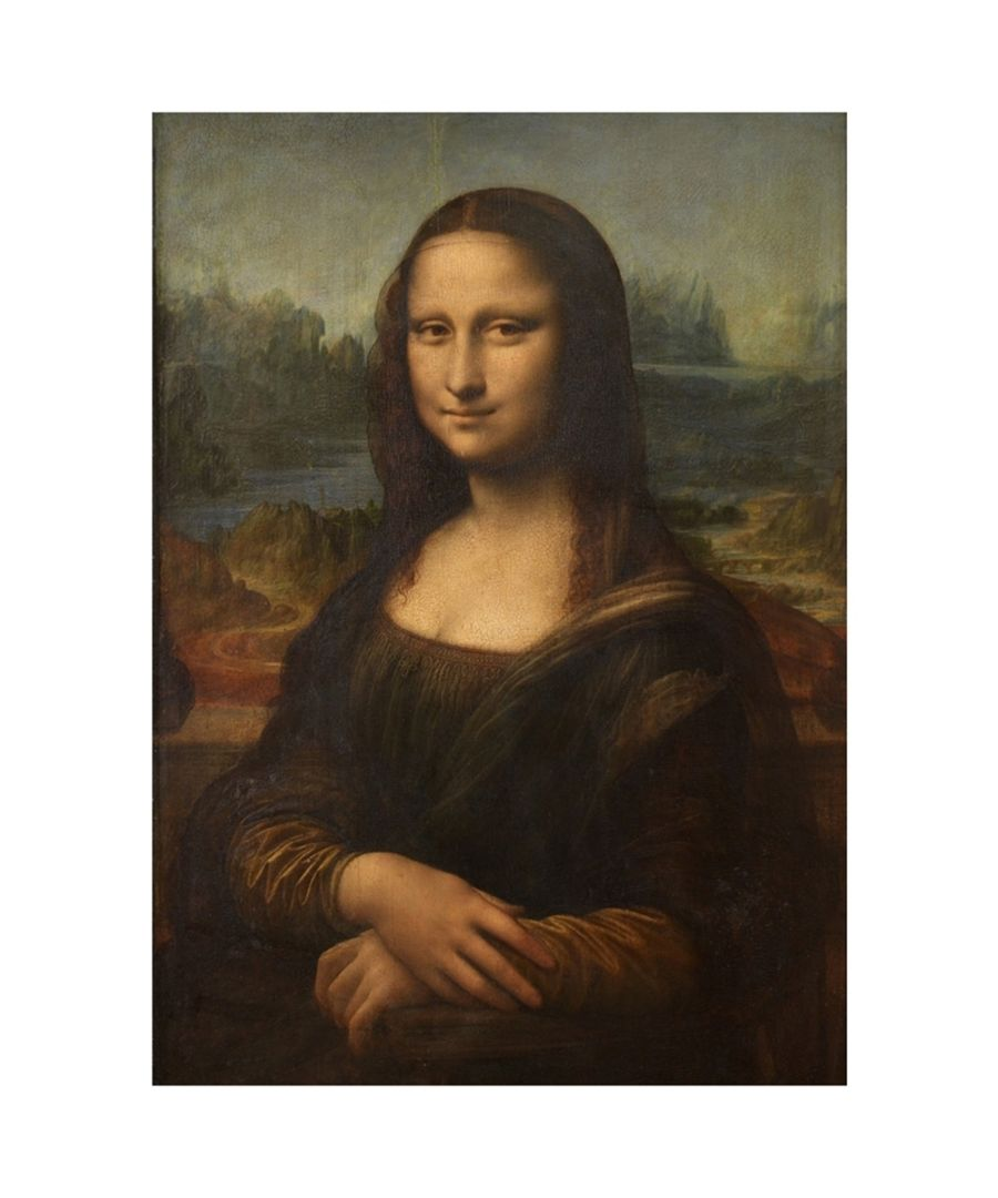 Image for Canvas Print - Mona Lisa - Leonardo Da Vinci Cm. 50x70