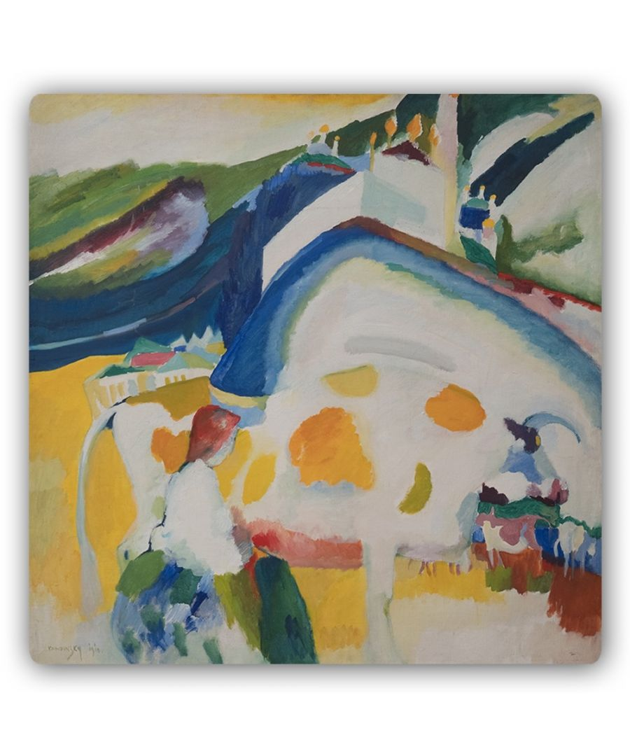 Image for Metal Print - The Cow - Wassily Kandinsky