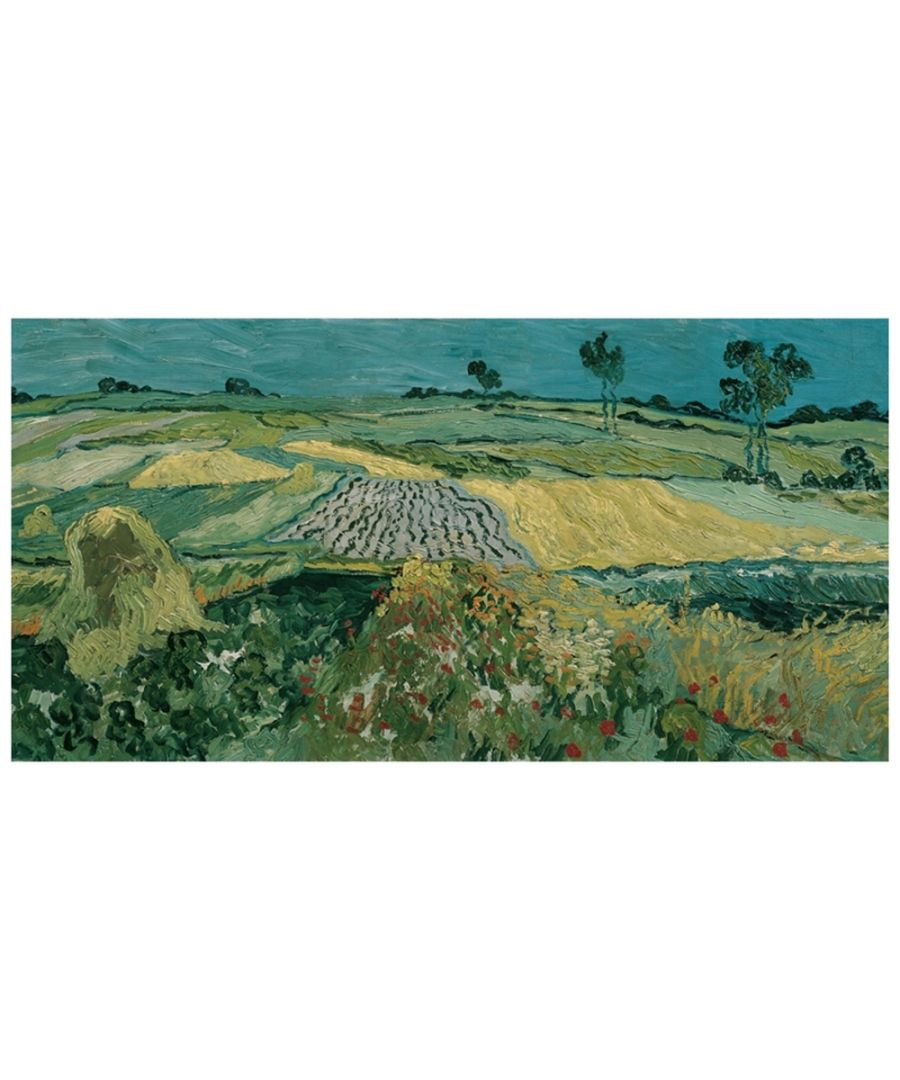 Image for Canvas Print - The Plain Of Auvers - Vincent Van Gogh Cm. 50x100