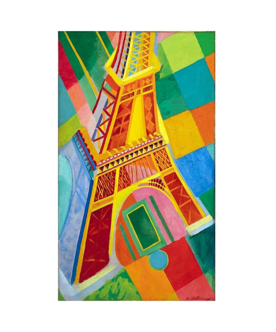 Image for Canvas Print - Eiffel Tower - Robert Delaunay Cm. 60x100