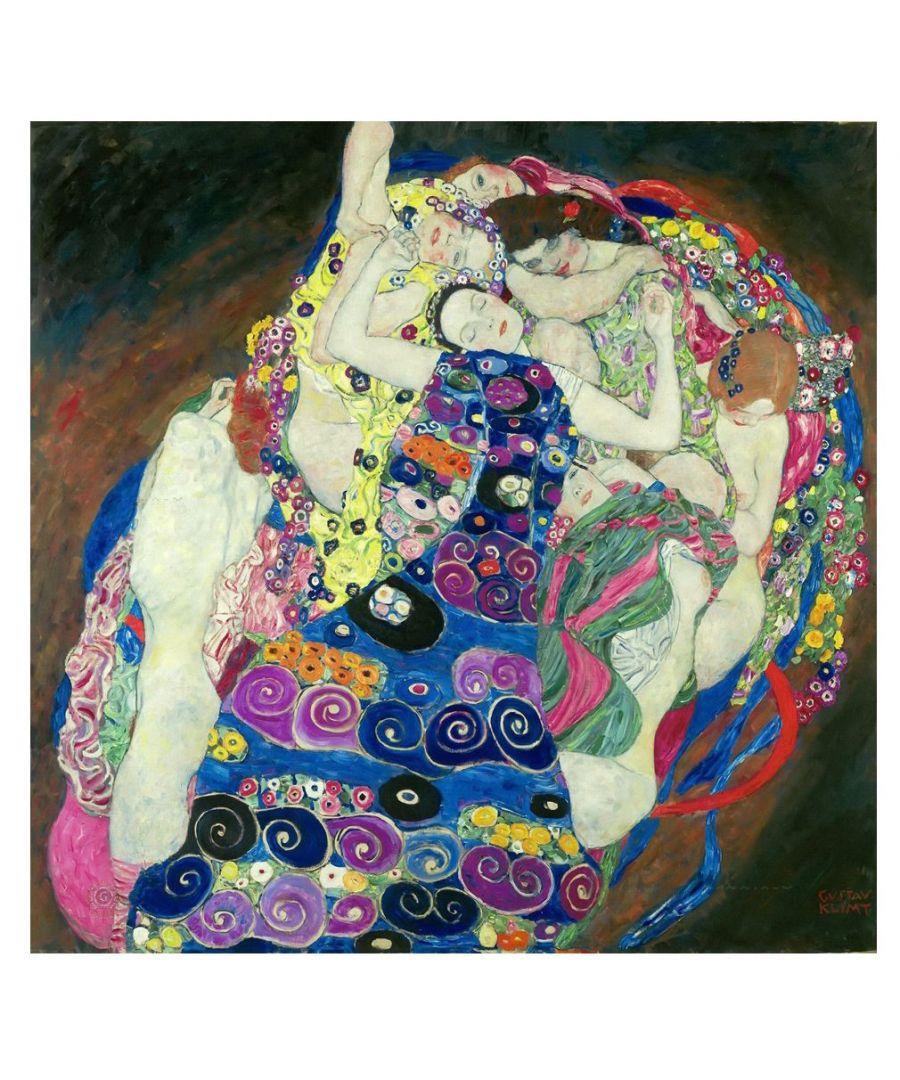Image for Canvas Print - The Virgin - Gustav Klimt