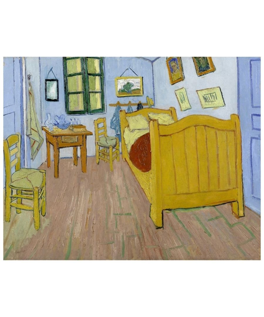 Image for Canvas Print - Vincent'S Bedroom In Arles - Vincent Van Gogh Cm. 80x100