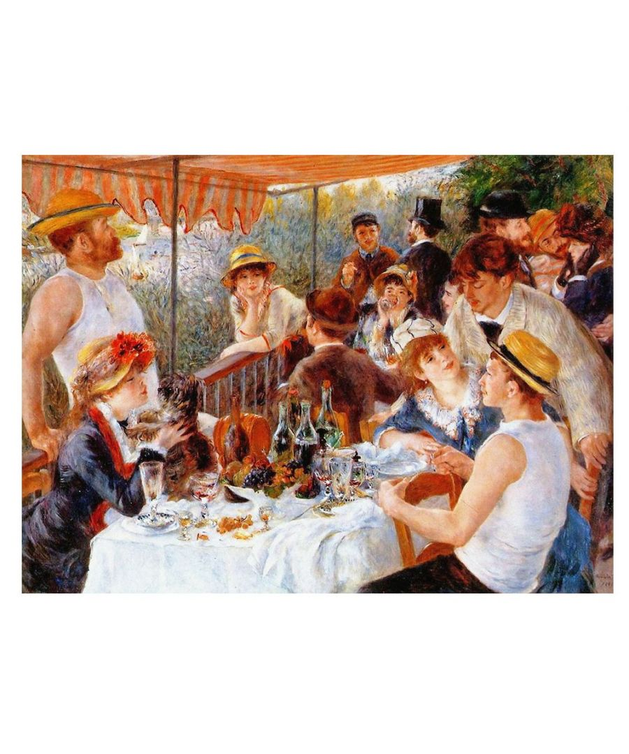 Image for Canvas Print - Luncheon Of The Boating Party - Pierre Auguste Renoir