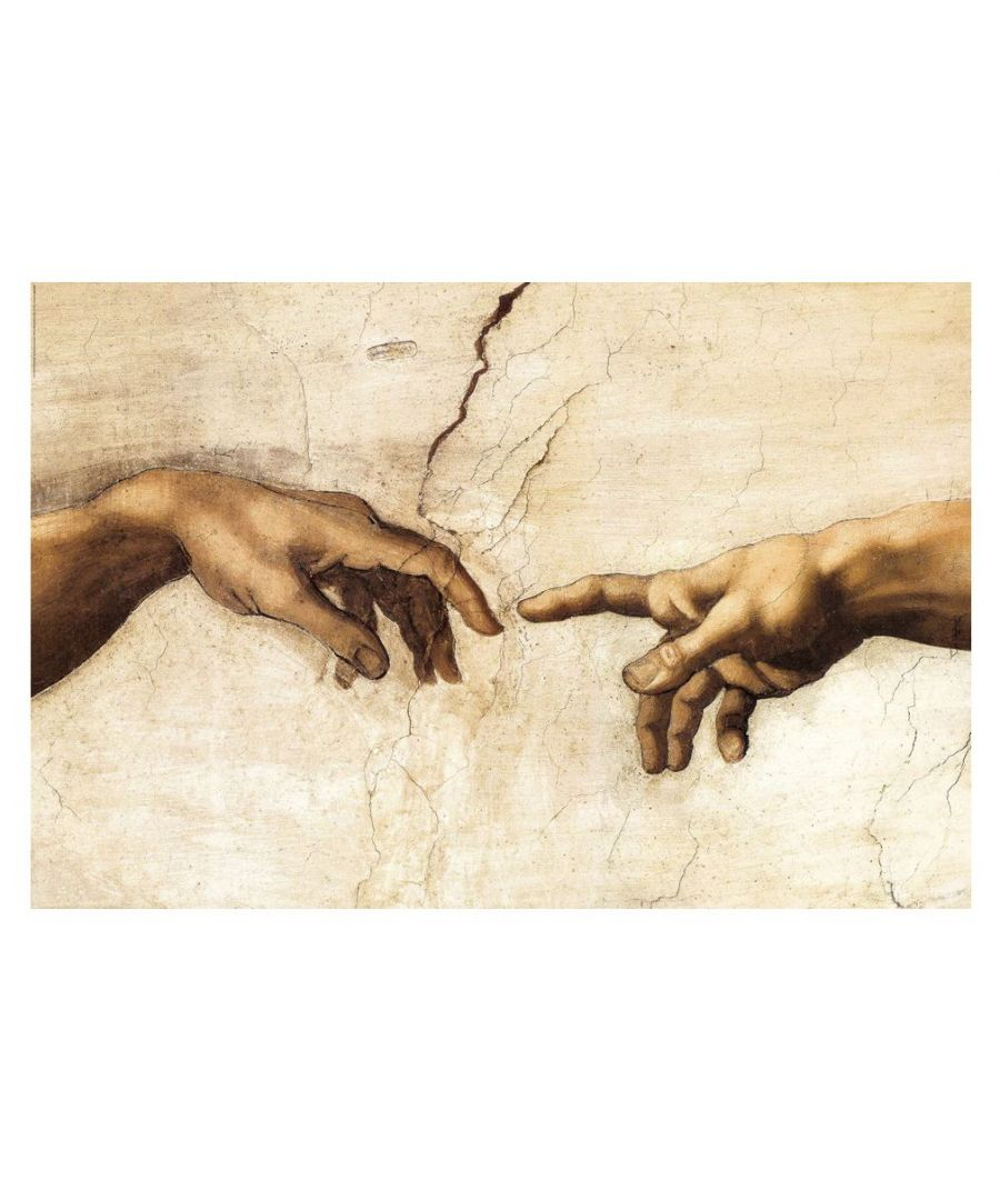 Image for Canvas Print - The Creation Of Adam (Particular) - Michelangelo Buonarroti