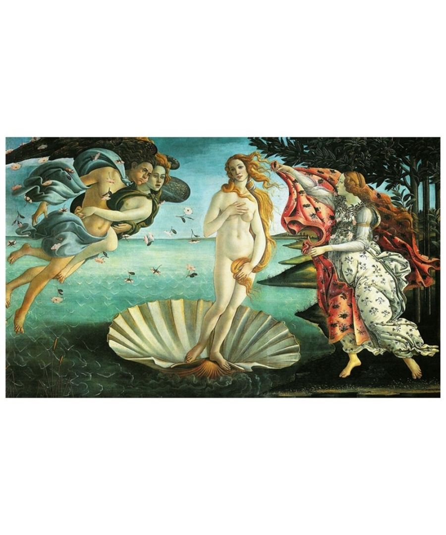 Image for Canvas Print - The Birth Of Venus - Sandro Botticelli Cm. 60x100