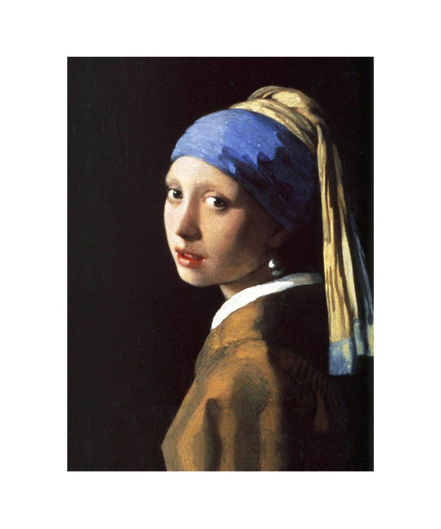 Image for Canvas Print - Girl With A Pearl Earring - Jan Vermeer