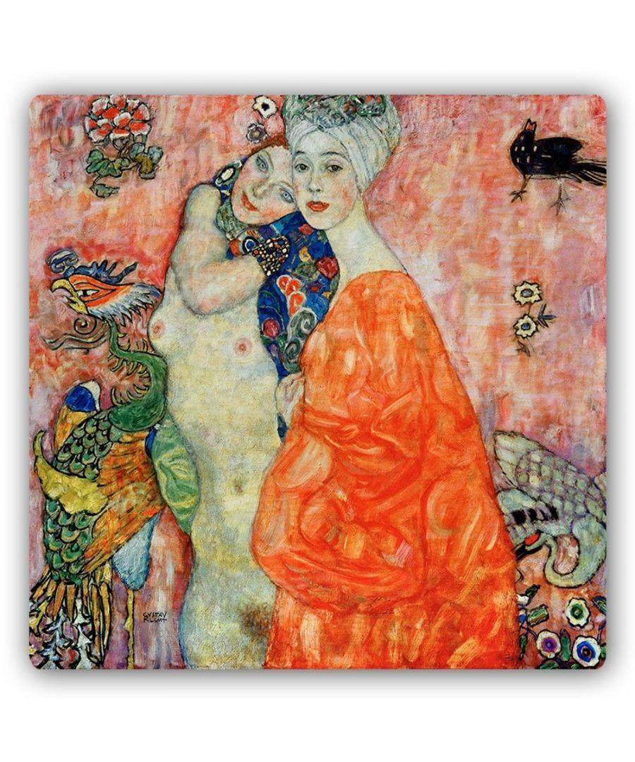 Image for Metal Print - Girlfriends - Gustav Klimt