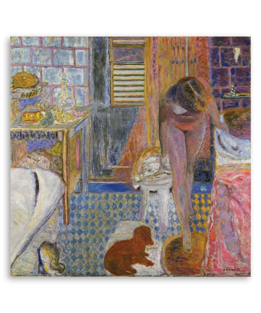 Image for Canvas Print - Le Cabinet De Toilette - Pierre Bonnard Cm. 60x60
