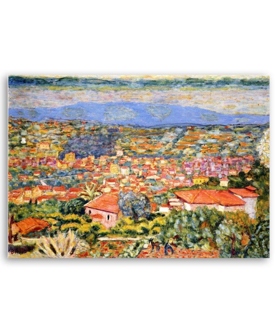Image for Canvas Print - Le Cannet, Vue. - Pierre Bonnard Cm. 60x80