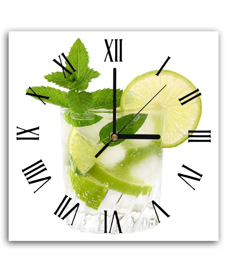 Image for Wall Clock - Lemon And Mint Cm. 30x30