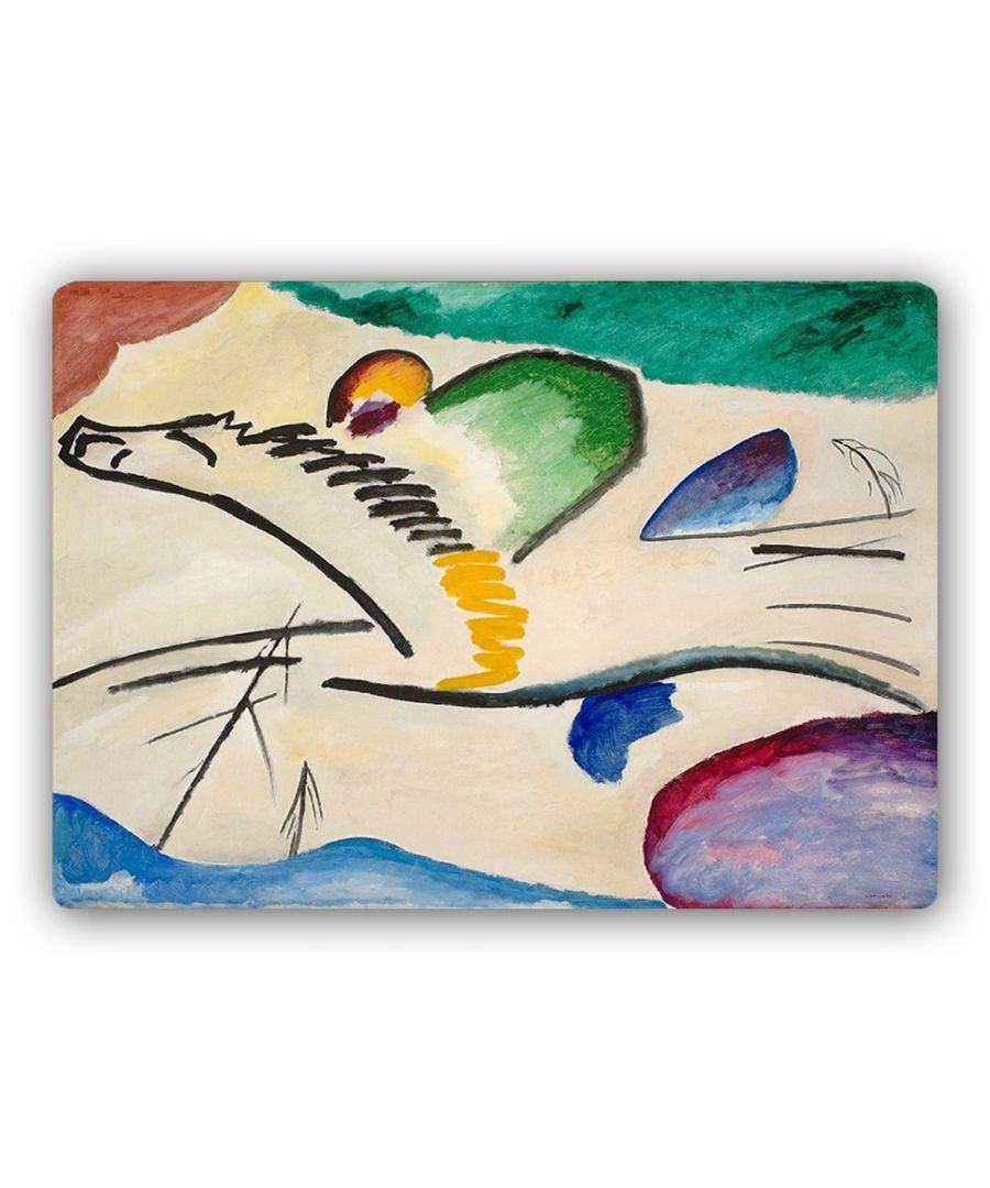 Image for Metal Print - The Lyrical - Wassily Kandinsky