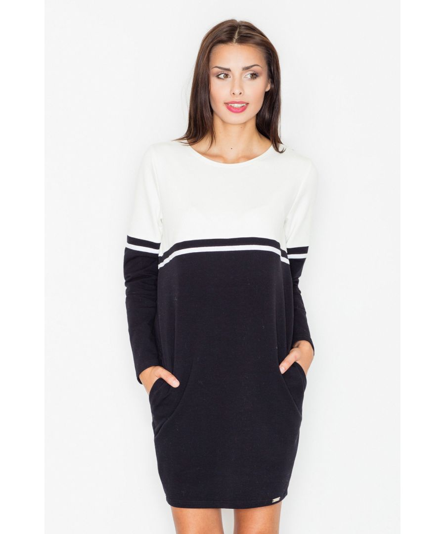 Image for Black Casual Cotton Dress