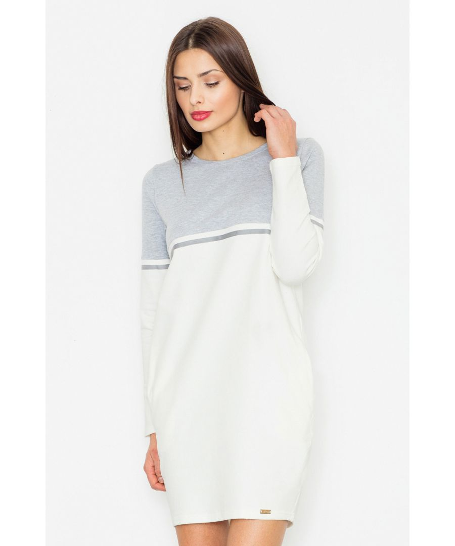 Image for A cotton dress with a casual character