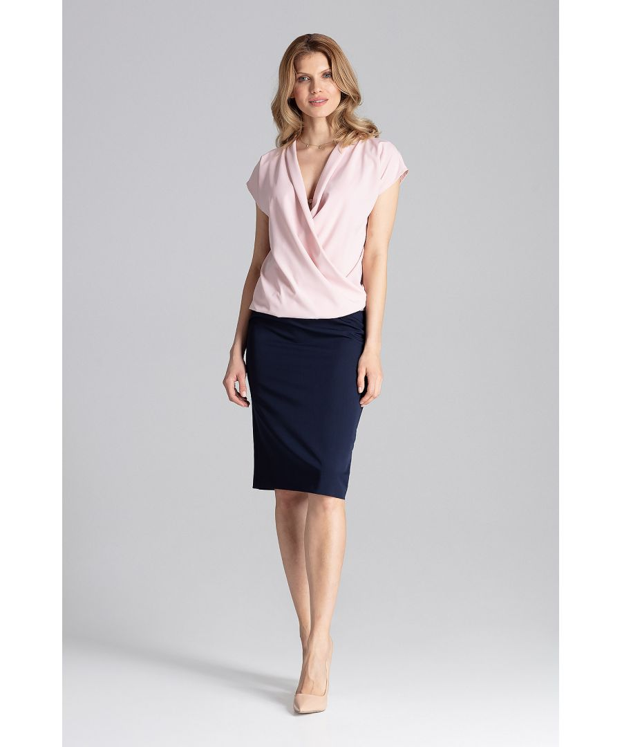 Image for Pink Elegant Blouse