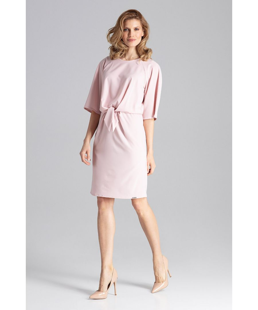 Image for Pink Delicate Midi Dress