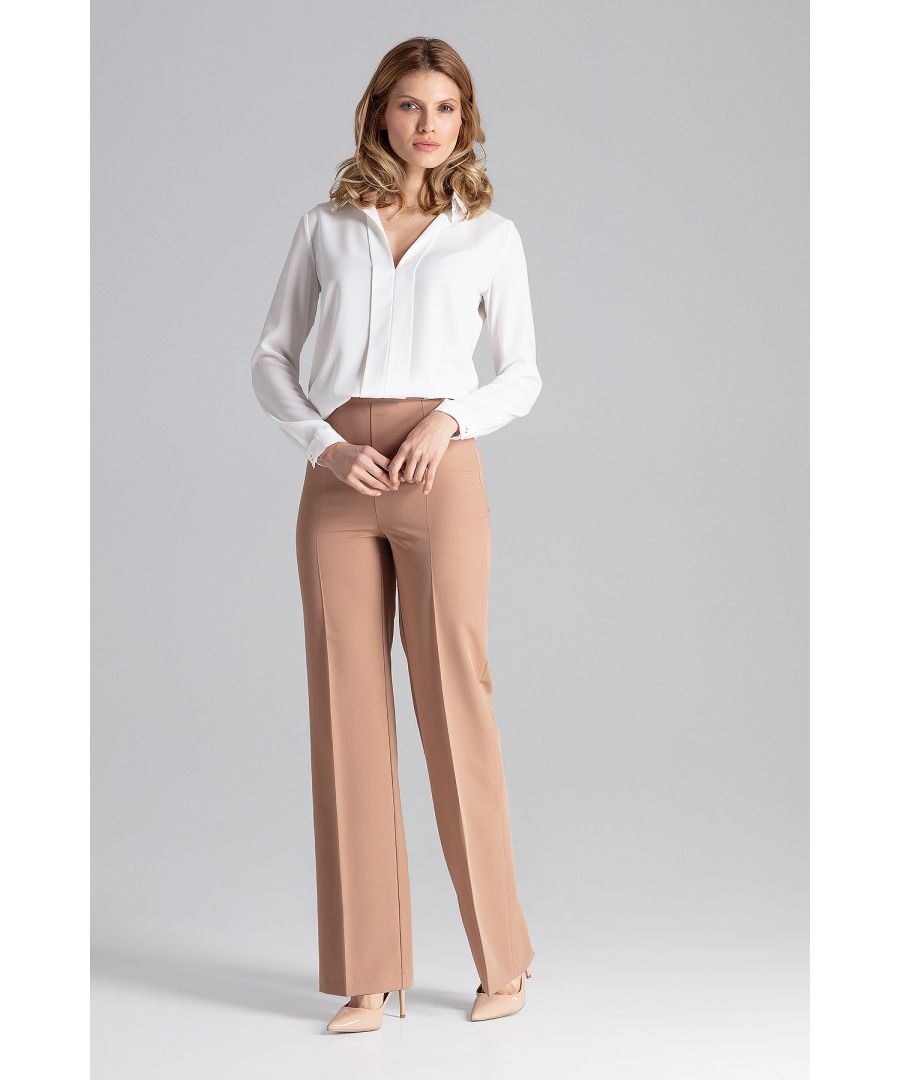 Image for Brown Long Dress Trousers