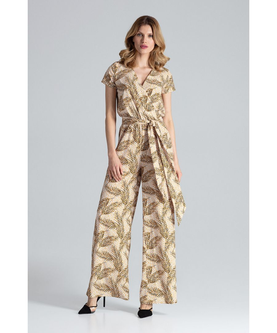 Image for Jumpsuit With Short Sleeves