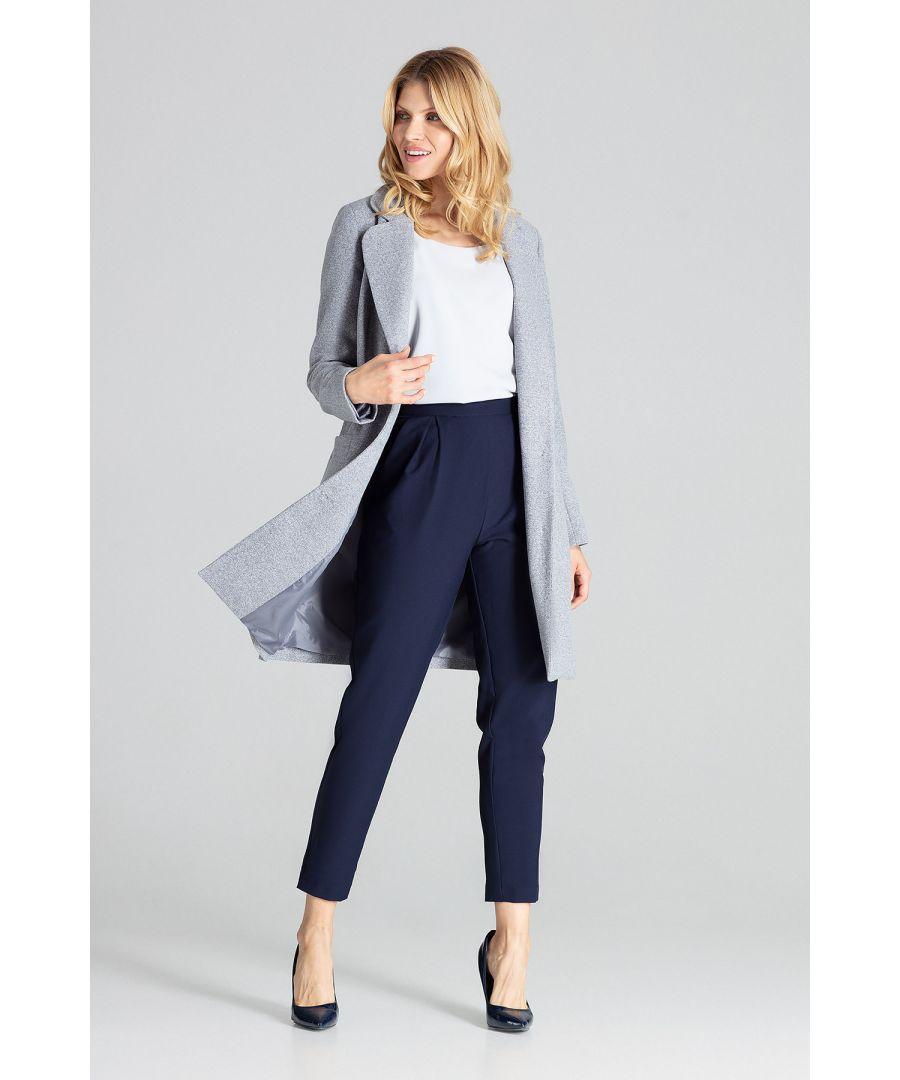 Image for Grey Classic Beige  Coat