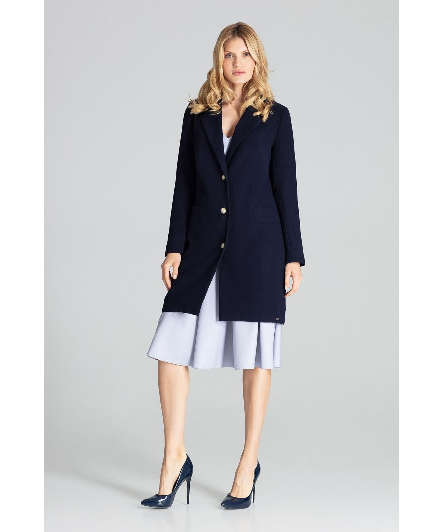 Image for Navy Classic Navy Coat