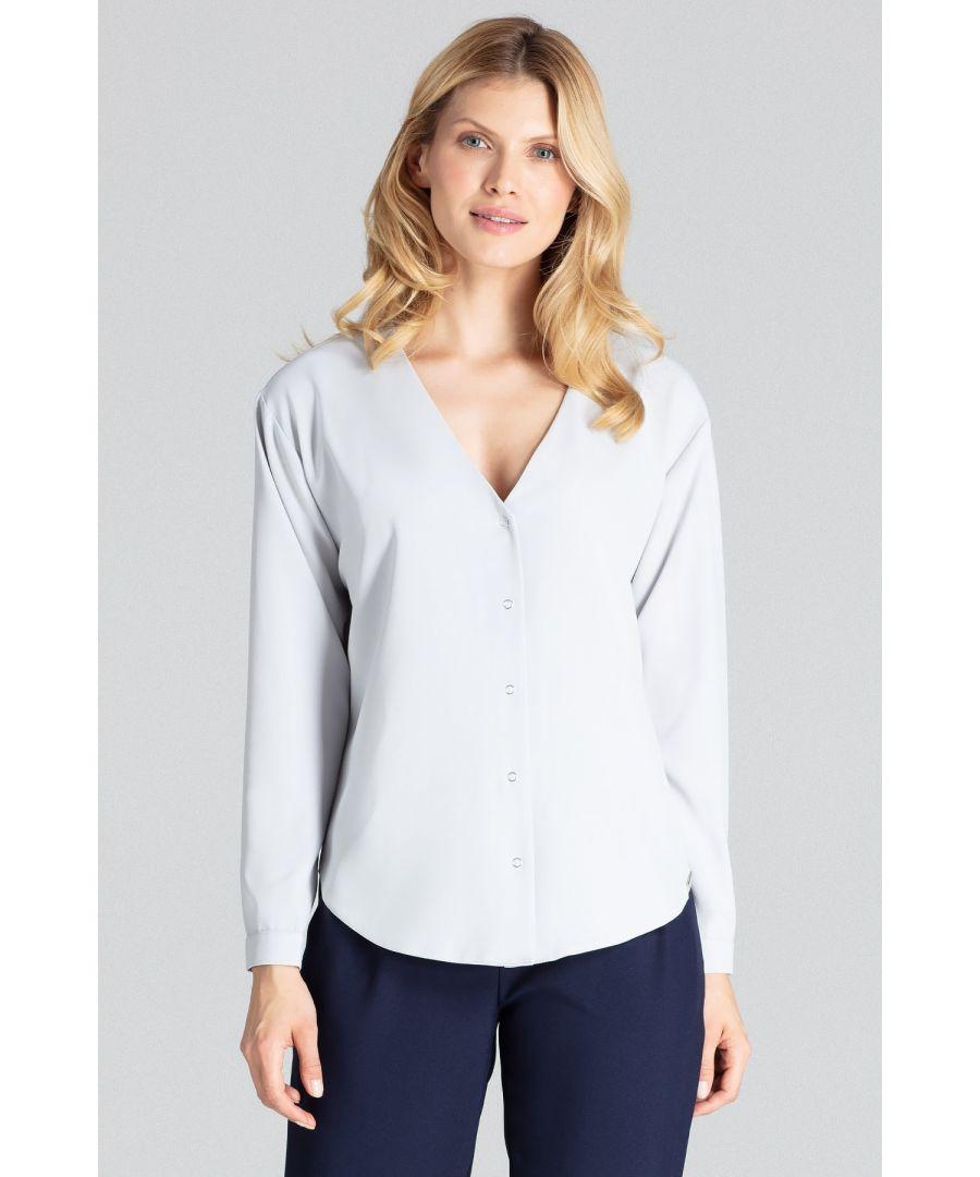 Image for Grey Long-Sleeved Shirt