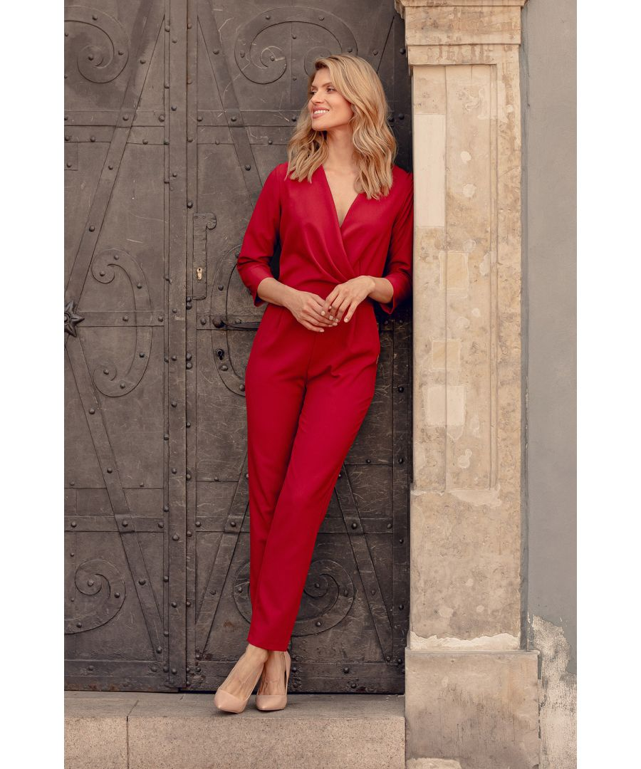 Image for Red Deep Red Jumpsuit